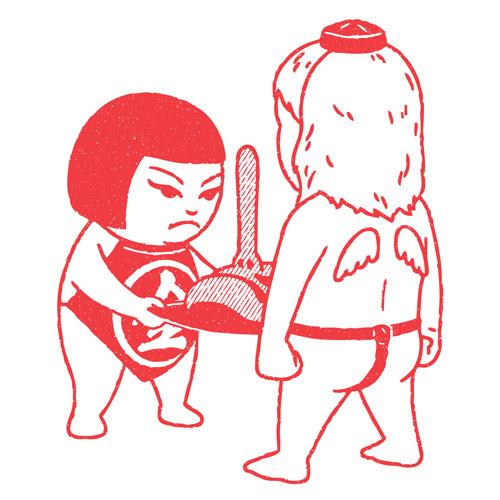 Drawings by illustrator6 Kimiaki Yaegashi aka Okimi
