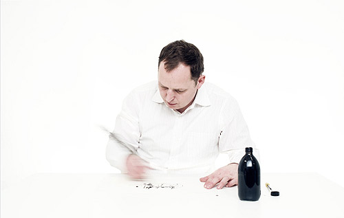 Calligraphy video by Niels Shoe Meulman