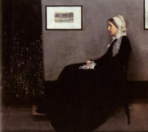 Arrangement in Grey and Black: The Artist's Mother
