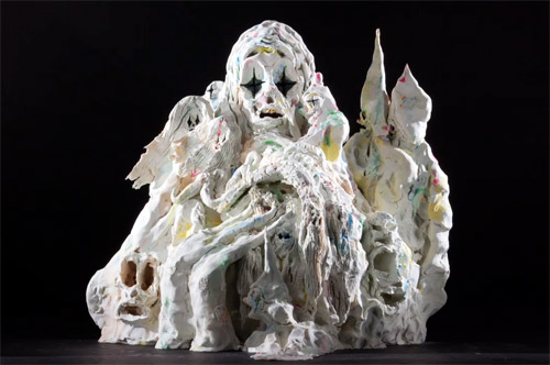 Mound claymation animation by artist Allison Schulnik
