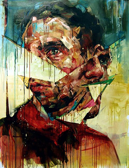 Artist painter Andrew Salgado