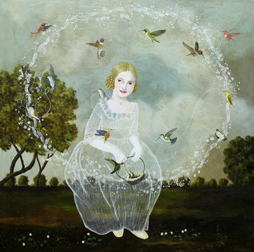 Artist painter Anne Siems paintings