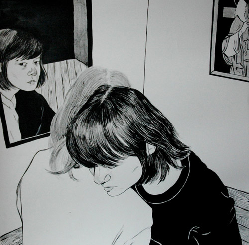 Drawings and paintings by artist Anthony Cudahy