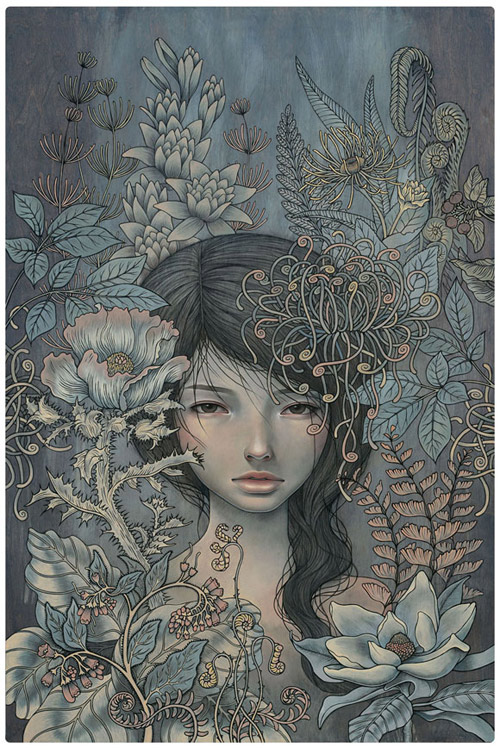 Artist painter Audrey Kawasaki paintings