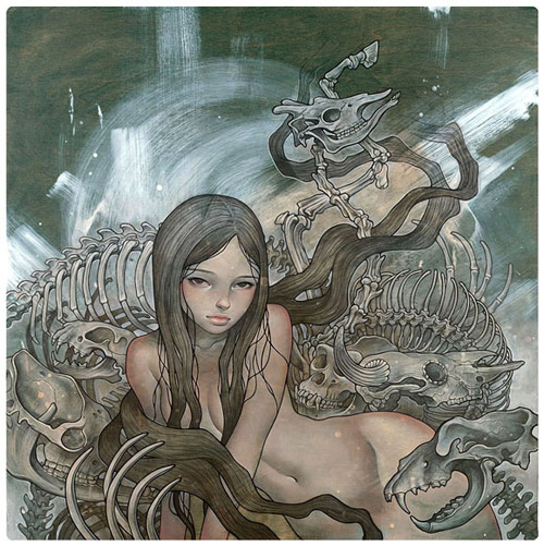 Artist painter Audrey Kawasaki paintings
