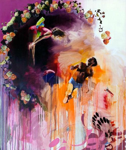 Artist painter Chloe Early