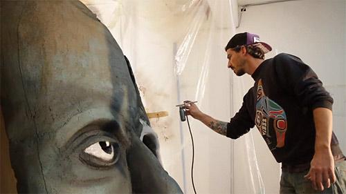 Danny Vermette Vancouver based installation artist