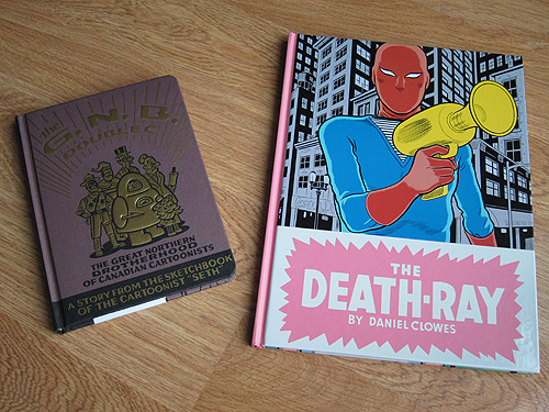 the death ray daniel clowes