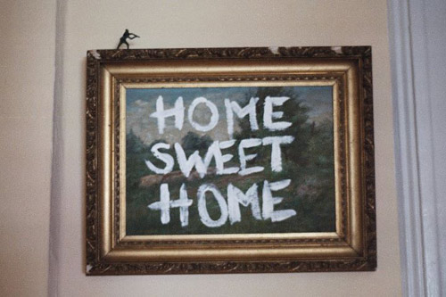 banksy home sweet home
