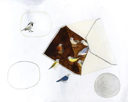 Drawings by artist Hana Akiyama