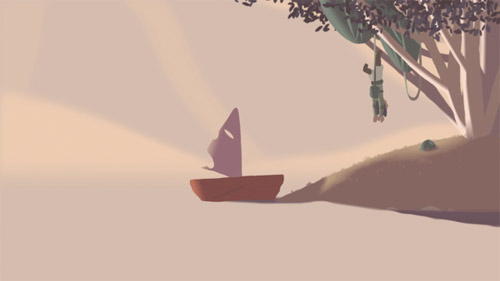 Little Boat animation by Nelson Boles