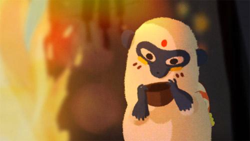 Little Monkey animation by Delphine Dussoubs