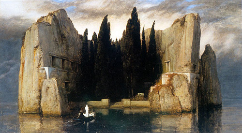 Arnold Bocklin-Isle of the Dead