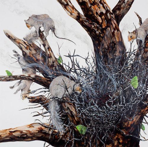 Artist painter Ryan McLennan paintings