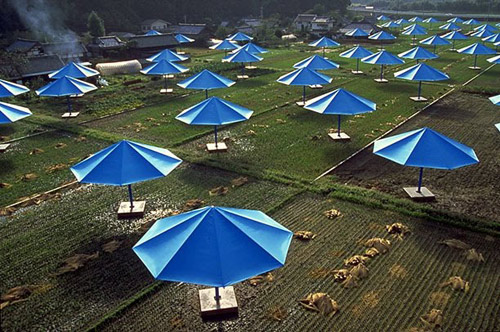umbrellas by christo