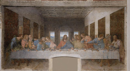 the last supper leonardo davinci