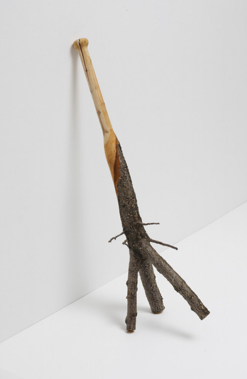 Baseball bats by artist Vincent Kohler turnaround sculptures