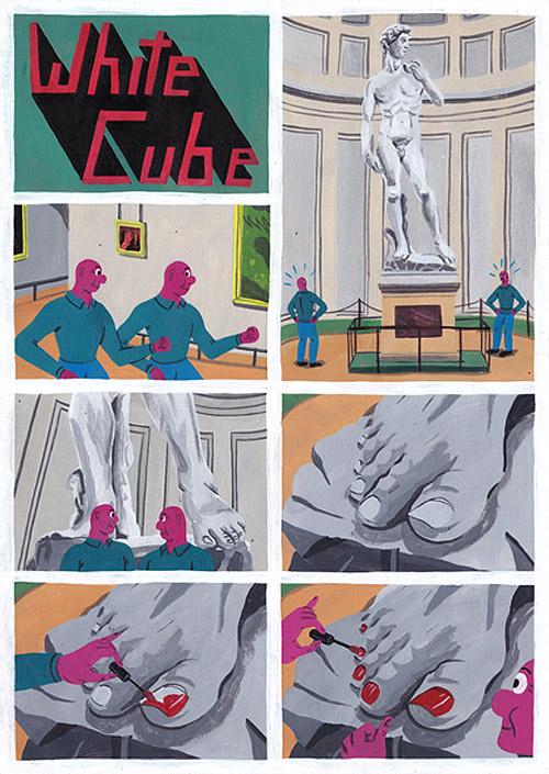 Comics by artist Brecht Vandenbroucke