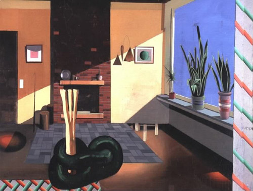 Artist painter Matthias Weischer paintings