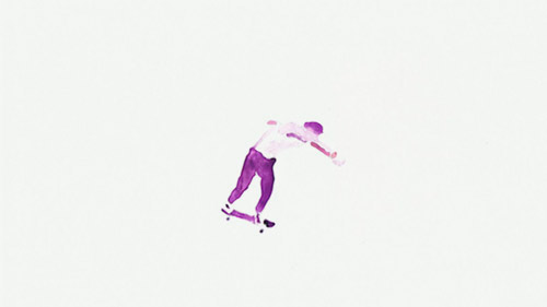 Acid Drops psychedelic skateboard animation Episode 1 Jason Dill Matt Box