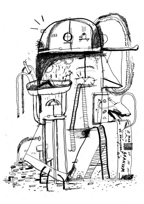 Artist illustrator Jake Evans