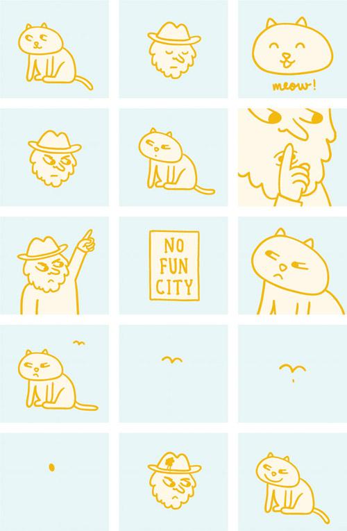 No Fun City by Jeff Hamada