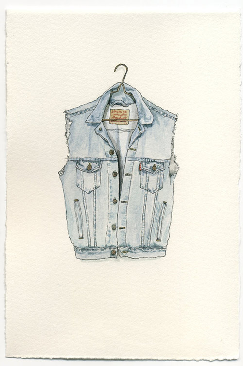 Watercolour illustrations by Mark Hall-Patch on etsy