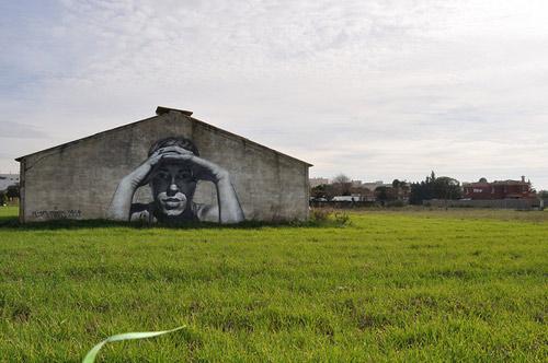 Street paintings murals by Mesa