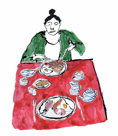 Artist illustrator Pia Bramley