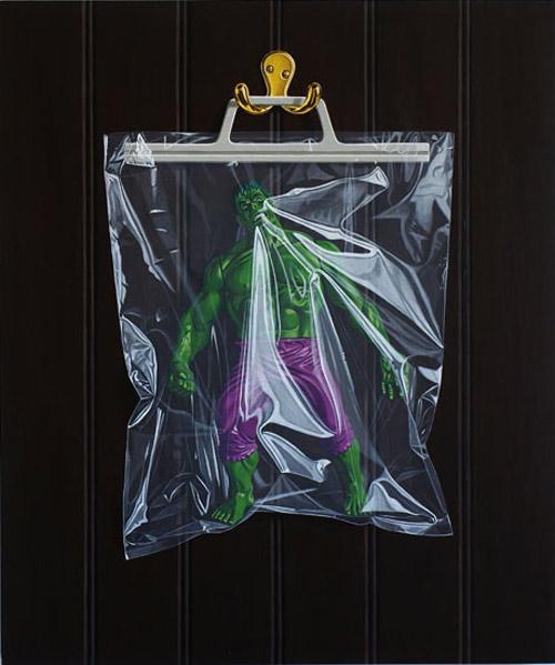 Artist painter Simon Monk secret identity