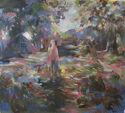 Artist painter Stanzie Tooth