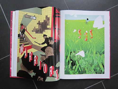Illustrator Tomer Hanuka Overkill monogram book