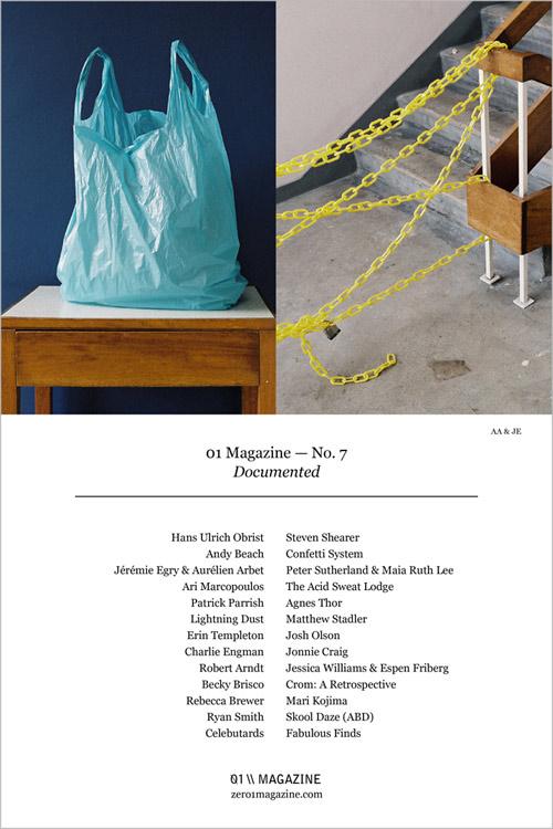 vancouver based zero1 magazine issue no 7 documented