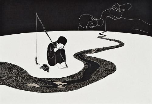 Artist Daehyun Kim Moonassi drawings