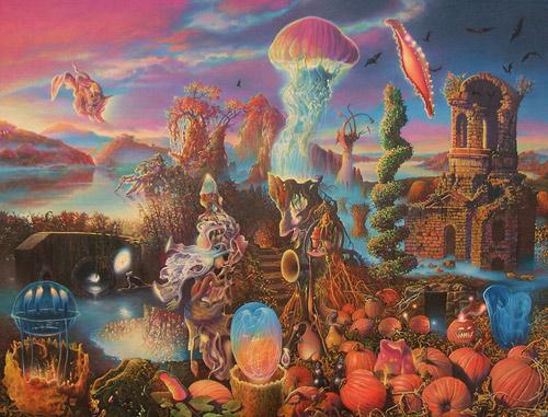 Artist painter James McCarthy paintings