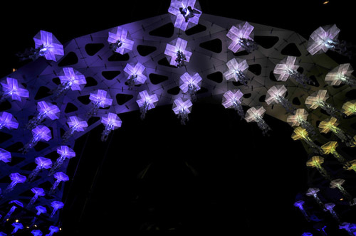Jelly Swarm by Tangible Interaction