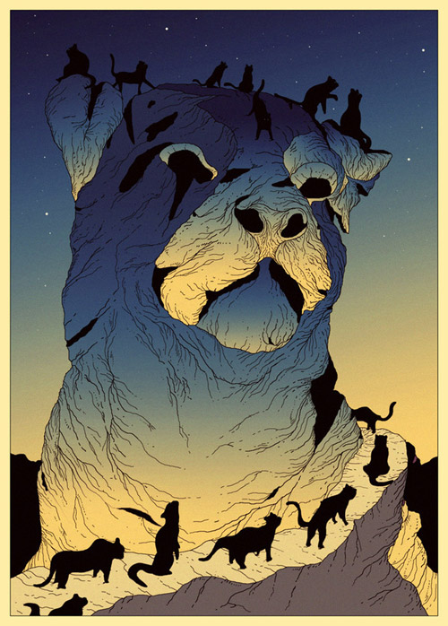 Artist illustrator Kilian Eng illustration