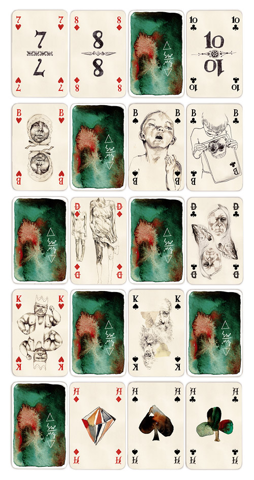 Playing cards by Monja Gentschow giveaway