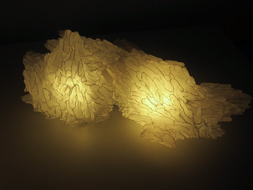 Light sculptures by Aqua Creations