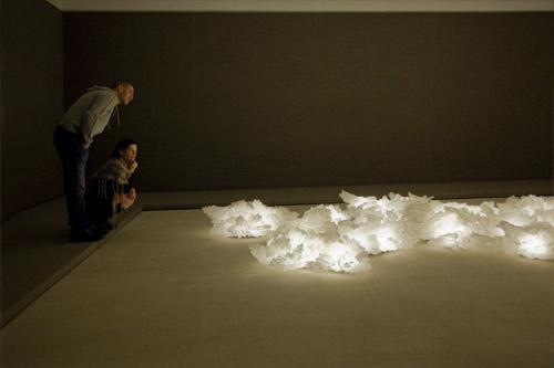 Light sculptures by Aqua Creations