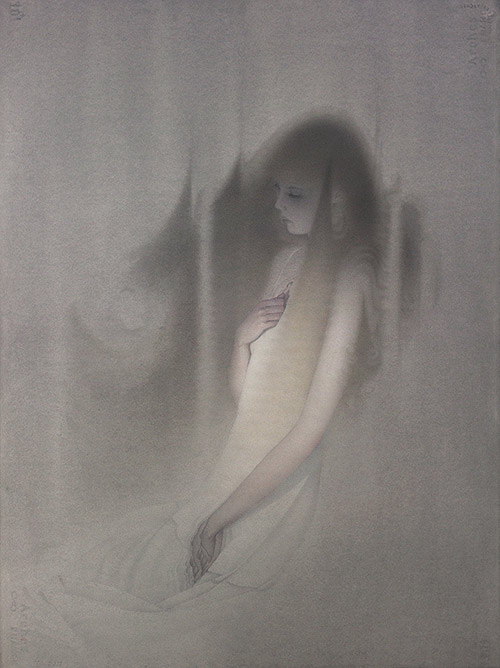 Artist painter illustrator Eric Fortune