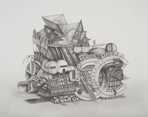 Drawings by artist Frank Magnotta