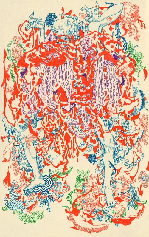 drawings from artist James Jean
