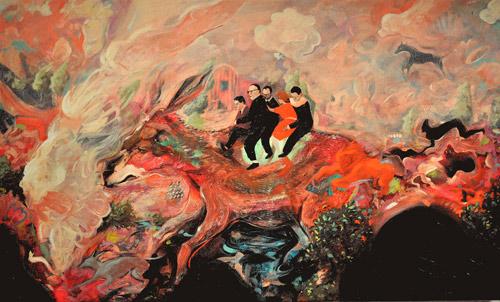 Artist painter Jeffrey Vincent paintings