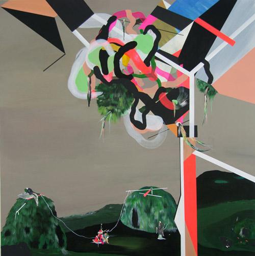 Artist painter Pepa Prieto paintings