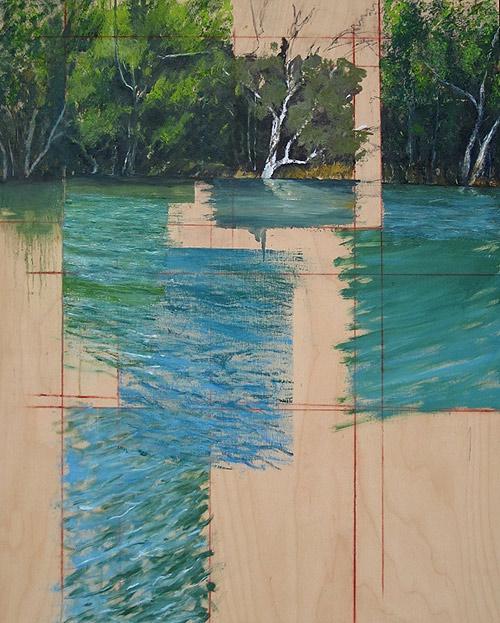 Artist painter Ryan M. Reynolds paintings