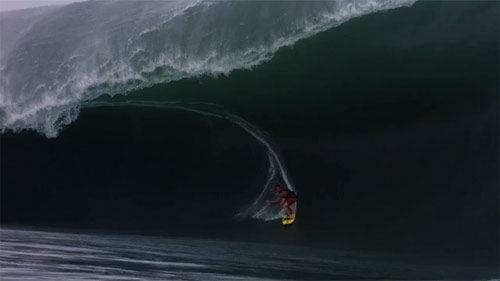 BIGGEST TEAHUPOO EVER Billabong Pro surf video by Chris Bryan