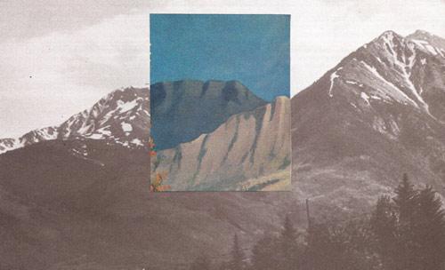 Collages by artist Brion Nuda Rosch