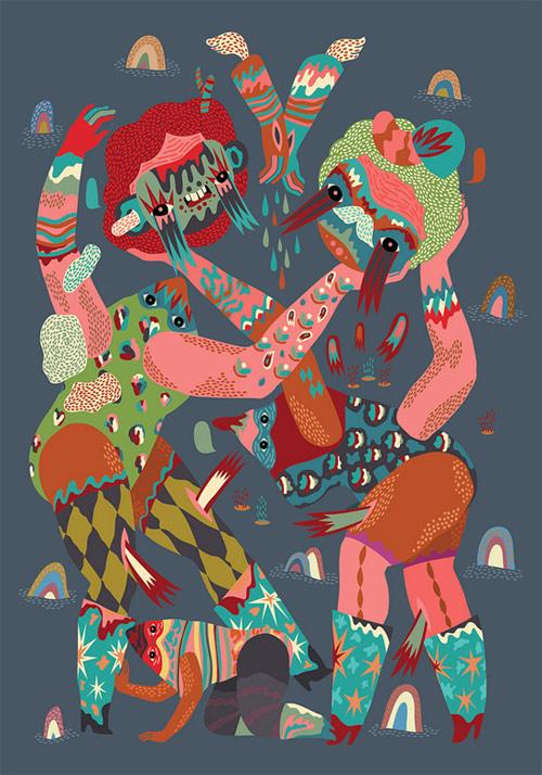 Artist illustrator Irena Zablotska