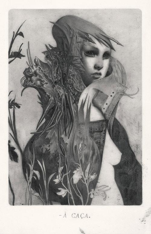 Drawings by artist illustrator Joao Ruas